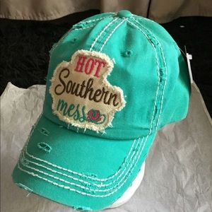 Embroidered vintage style ball cap hot mes